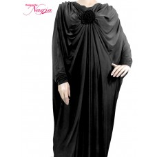 Butterfly Abaya with Stylish Design and a Lovely Flower