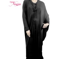 Kaftan Style Abaya with String Design